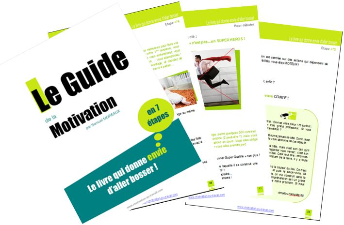 Guide Motivation et visuel pages